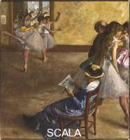 Degas, Edgar (1834-1917) La scuola di danza, c.1880 .