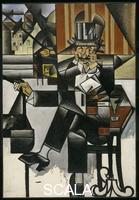 Gris, Juan (1887-1927) Man in a Café, 1912