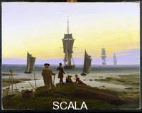 Friedrich, Caspar David (1774-1840) Le fasi della vita, 1834 ca