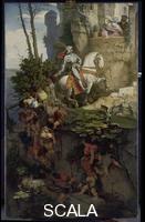 Schwind, Moritz von (1804-1871) La cavalcata Falkenstein, 1843-44