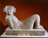 Arte Maya Chac-Mool, prov. tempio della Piattaforma di Venus di Chichen Itza