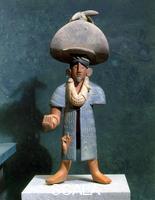 Arte Maya Statuetta detta 'El charro'