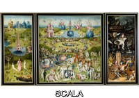 Bosch, Hieronymus (c. 1450-1516) The Garden of Earthly Delights, or The Painting of the Arbutus, 1500 - 1505