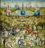 Bosch, Hieronymus (c. 1450-1516) The Garden of Earthly Delights, or The Painting of the Arbutus, 1500 - 1505. Central part