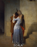 Hayez, Francesco (1791-1881) Il bacio. 1859