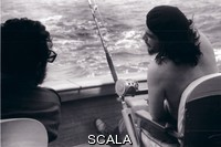 Korda (Diaz Gutierrez, Alberto, 1928-2001) Che and Fidel fishing