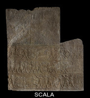 ******** Stone panel from the North Palace of Ashurbanipal (Room H, nos. 7-9)
