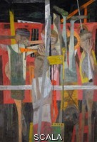 Guston, Philip (1913-1980) Porch II. 1947