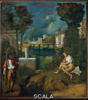 Giorgione (Barbarelli, Giorgio da Castelfranco 1477-1510) La tempesta