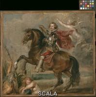 Rubens, Peter Paul (1577-1640) Equestrian Portrait of the Duke of Buckingham. 1625.