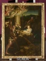 Correggio (Allegri, Antonio 1489-1534) Nativita' (La notte), 1522-30