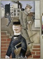 Grosz, George (1893-1959) Giornata grigia. 1921.