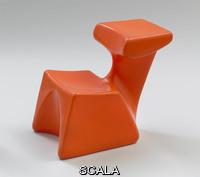 Colani, Luigi (1928-) Sedia Zocker, 1972. Produttore: Top-System Burkhard Luebke