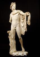 Arte romana Apollo del Belvedere (copia di un originale greco in bronzo, opera di Leocares, databile tra il 350 e il 325 a. C.)