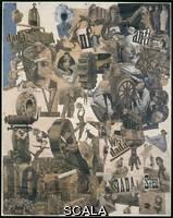 Hoech, Hannah (1889-1978) Taglio con il coltello da cucina Dada attraverso l'ultima epoca culturale 'grassa' di Weimar in Germania, 1919