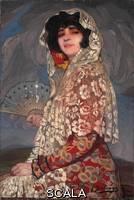******** Zuloaga y Zabaleta, Ignacio (1870-1945). Cousin Candida. 1918