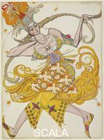 Bakst, Leon (1866-1924) L'uccello di fuoco, 1913