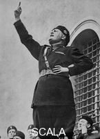 ******** Benito Mussolini, Italian fascist dictator, c.1930s.