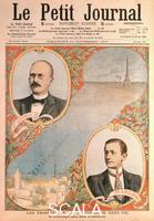 ******** Opening of wireless telegraph link between Paris and Casablanca, 1907.