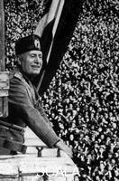 ******** Benito Mussolini (1883-1945), Italian fascist dictator.