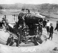 ******** Japanese siege gun, Russo-Japanese War, 1904-5.