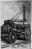 ******** George Stephenson's locomotive 'Rocket', 1829 (1892).
