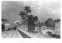 ******** Berkhamsted Station, Hertfordshire, on the London and Birmingham Railway, c1860.