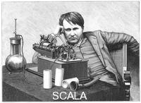 ******** Thomas Alva Edison, 1888.