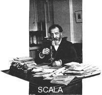 ******** Henri Moissan, French chemist, 1900.