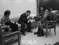 Korda (Diaz Gutierrez, Alberto, 1928-2001) Jean-Paul Sartre, Simone de Beauvoir et le Che a Cuba, 1960