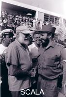 Korda (Diaz Gutierrez, Alberto, 1928-2001) Hemingway y Fidel, 1960.
