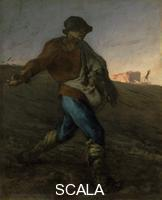 Millet, Jean Francois (1814-1875) The Sower