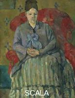 Cezanne, Paul (1839-1906) Madame Cezanne in a Red Armchair
