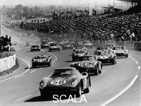 ******** Start of the Le Mans 24 Hours, France, 1964.