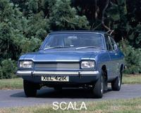 ******** A 1972 Ford Capri 1600L.