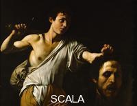 Caravaggio (Merisi, Michelangelo da 1571-1610) David con la testa di Golia, 1605