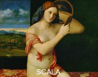 Bellini, Giovanni (1430-1516) Giovane donna al bagno, 1515