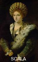 Tiziano (Vecellio, Tiziano 1488-1576) Isabella d'Este (1474-1539), duchessa di Mantova, 1534