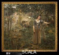 Bastien-Lepage, Jules (1848-1884) Joan of Arc, 1879